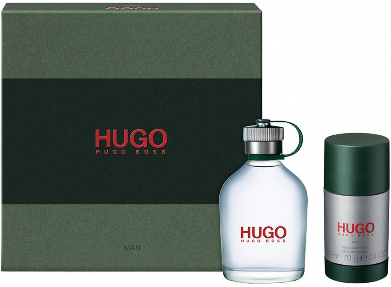 Hugo Boss Hugo - EDT 75 ml + tuhý dezodorant 75 ml