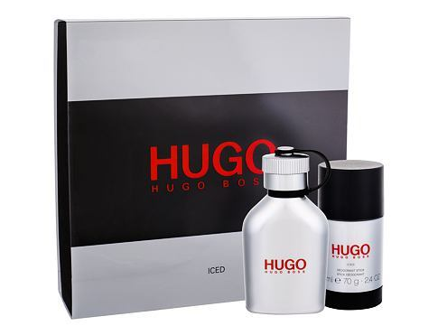 Hugo Boss Hugo Iced - EDT 75 ml + tuhý deodorant 75 ml