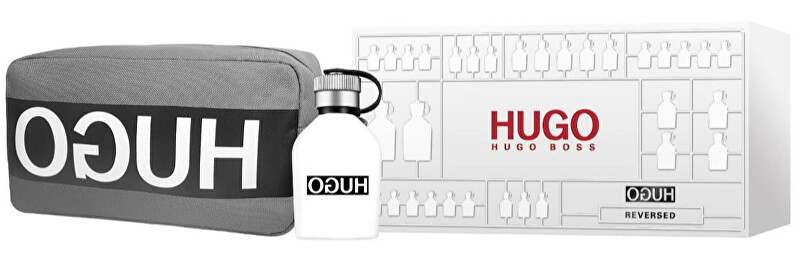 Hugo Boss Hugo Reversed - EDT 75 ml + kozmetická taštička