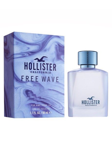 Hollister Free Wave For Him - EDT 50 ml