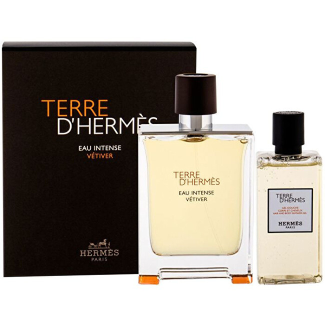Hermes Terre D`Hermes Eau Intense Vetiver - EDP 100 ml   sprchový gel 80 ml