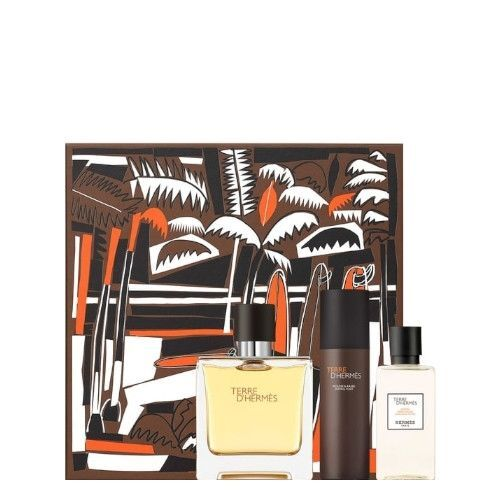 Hermes Terre D` Hermes - EDP 75 ml   pena na holenie 50 ml   voda po holení 40 ml