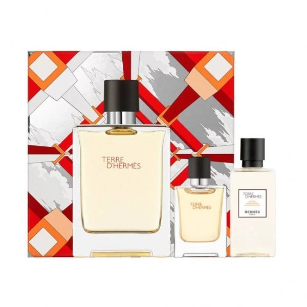 Hermes Terre D` Hermes - EDT 100 ml   sprchový gel 80 ml   EDT 12,5 ml