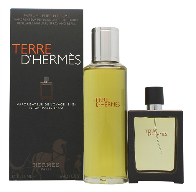 Hermes Terre D´ Hermes - EDP 30 ml (plnitelná) + náplň 125 ml