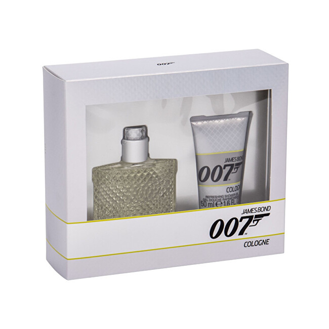 James Bond James Bond 007 Cologne  EDC 30 ml  sprchový gel 50 ml