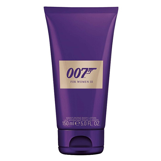 James Bond James Bond 007 For Women III - tělové mléko 150 ml