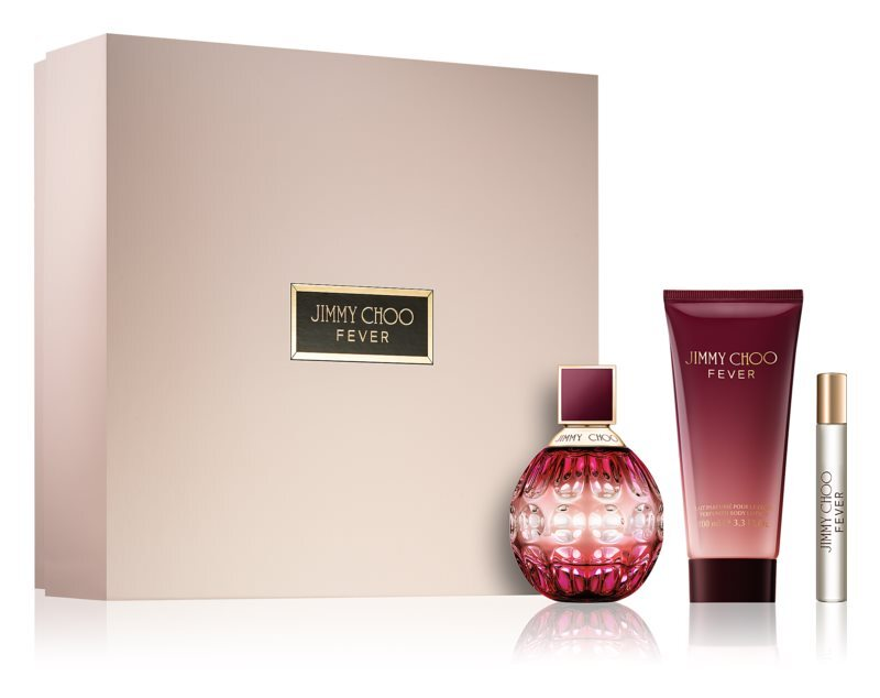 Jimmy Choo Fever - EDP 100 ml   tělové mléko 100 ml   EDP 7,5 ml
