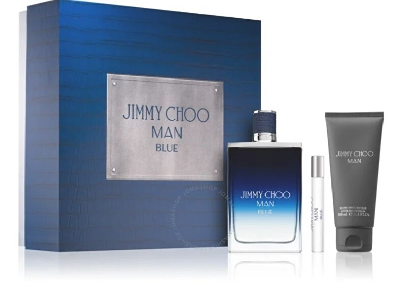 Jimmy Choo Man Blue - EDT 100 ml   balzám po holení 100 ml   EDT 7,5 ml