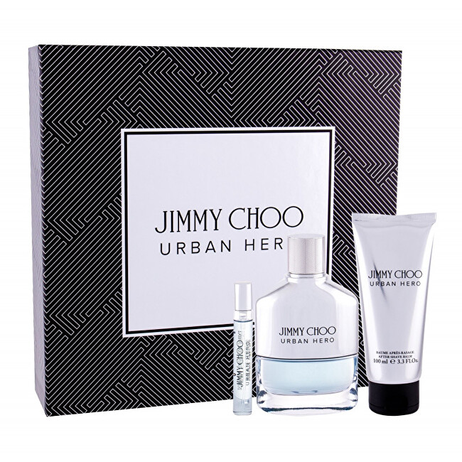 Jimmy Choo Urban Hero - EDP 100 ml   balzám po holení 100 ml   EDP 7,5 ml