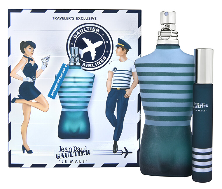 Jean P. Gaultier Le Male - EDT 125 ml + EDT 20 ml