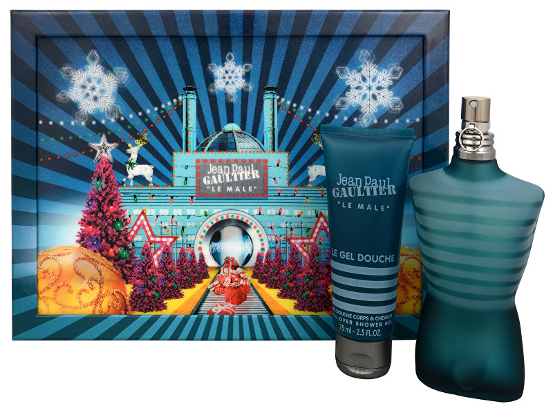 Jean P. Gaultier Le Male - EDT 125 ml + sprchový gel 75 ml