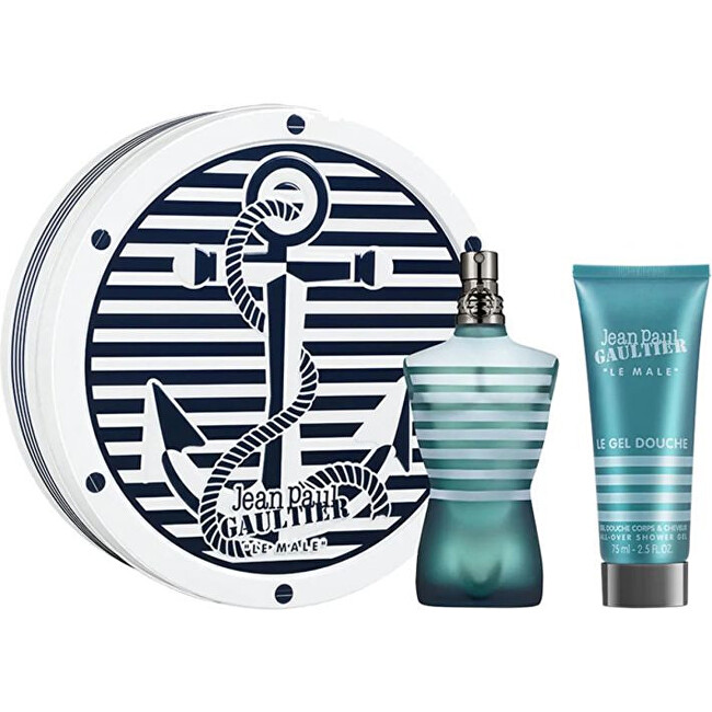 Jean P. Gaultier Le Male - EDT 125 ml   sprchový gel 75 ml