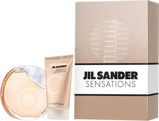 Jil Sander Sensations  EDT 40 ml  tělový krém 50 ml