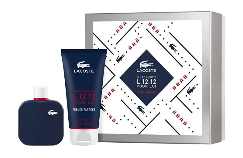 Lacoste Eau De Lacoste L.12.12 Pour Lui French Panache - EDT 100 ml + sprchový gel 150 ml
