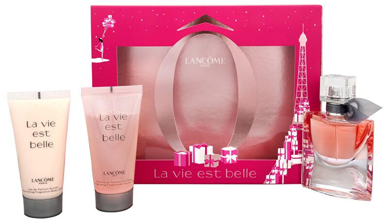 Lancome La Vie Est Belle EdP 30 ml + sprchový gél 50 ml + telové mlieko 50 ml darčeková sada