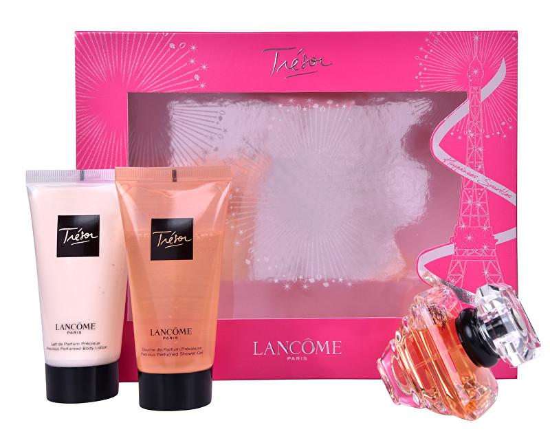 Lancome Tresor - EDP 30 ml + tělové mléko 50 ml + sprchový gél 50 ml