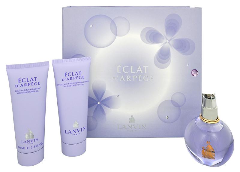 Lanvin Eclat D`Arpege - EDP 100 ml + sprchový gél 100 ml + telové mlieko 100 ml