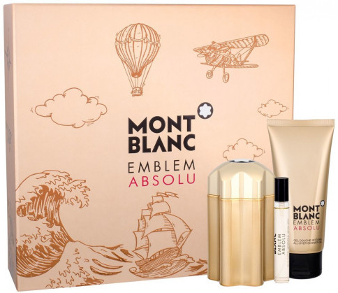 Mont Blanc Emblem Absolu  EDT 100 ml  sprchový gel 100 ml  EDT 75 ml