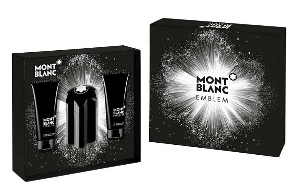 Mont Blanc Emblem - EDT 100 ml + balzám po holení 100 ml + sprchový gel 100 ml