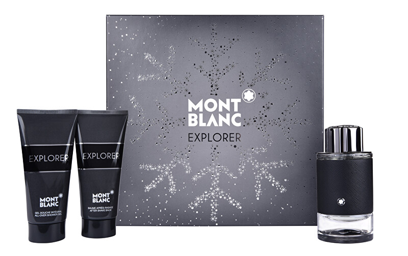 Mont Blanc Explorer - EDP 100 ml + balzám po holení 100 ml + sprchový gel 100 ml