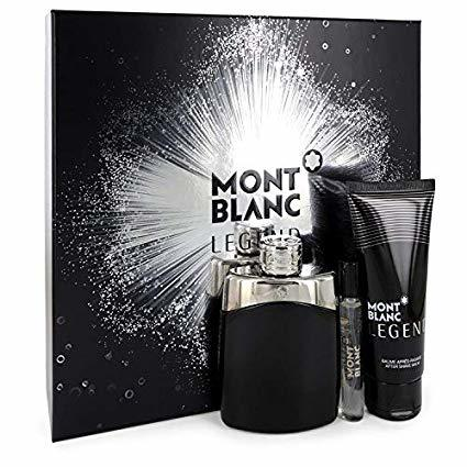 Mont Blanc Legend  EDT 100 ml  balzám po holení 100 ml  EDT 75 ml