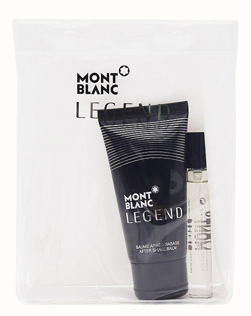Montblanc Legend - EDT 7,5 ml   balzám po holení 50 ml