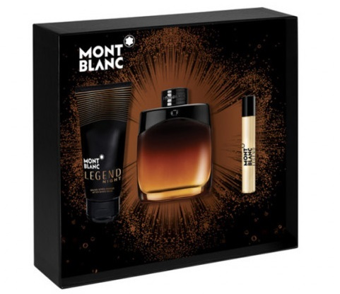 Mont Blanc Legend Night - EDP 100 ml + EDP 7,5 ml + balzám po holení 100 ml