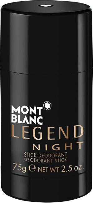 Mont Blanc Legend Night - tuhý deodorant 75 ml pro muže