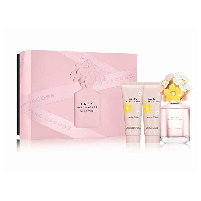 Marc Jacobs Daisy Eau So Fresh  EDT 75 ml  tělové mléko 75 ml  sprchový gel 75 ml