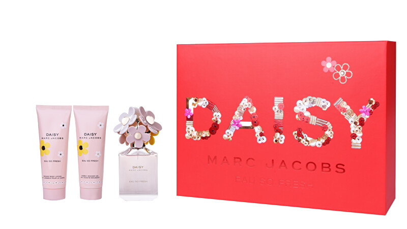 Marc Jacobs Daisy Eau So Fresh - EDT 75 ml + telové mlieko 75 ml + sprchový gél 75 ml