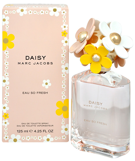 Marc Jacobs Daisy Eau So Fresh  EDT  SLEVA  pomačkaná krabička 125 ml