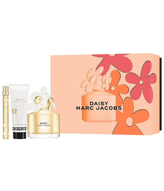 Marc Jacobs Daisy - EDT 100 ml   telové mlieko 75 ml   EDT 10 ml