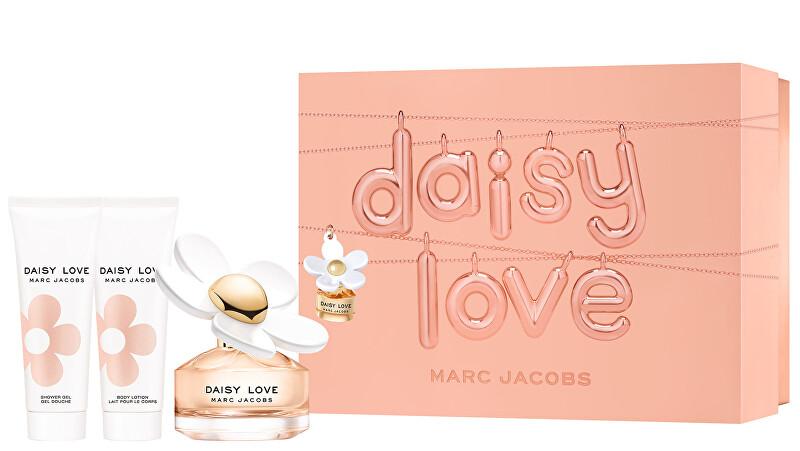 Marc Jacobs Daisy Love - EDT 50 ml + tělové mléko 75 ml + sprchový gel 75 ml