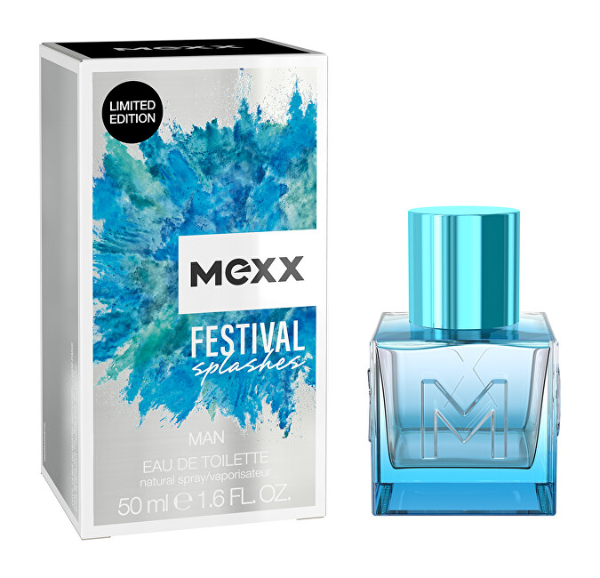 Mexx Festival Splashes For Men  EDT 50 ml