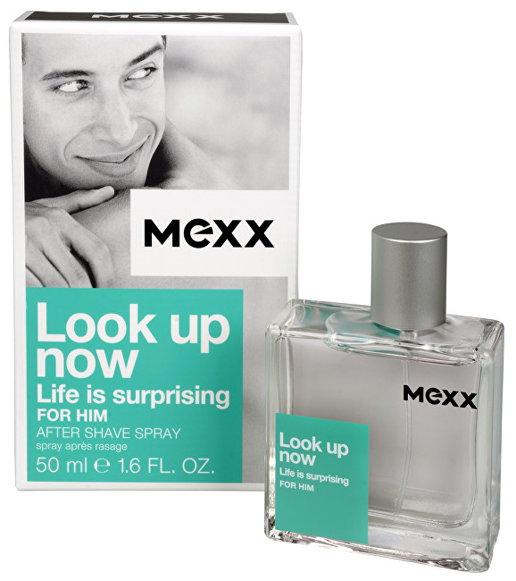 Mexx Look Up Now For Him - Voda po holení 50 ml