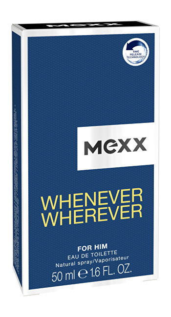 Mexx Whenever Wherever Men  EDT 50 ml