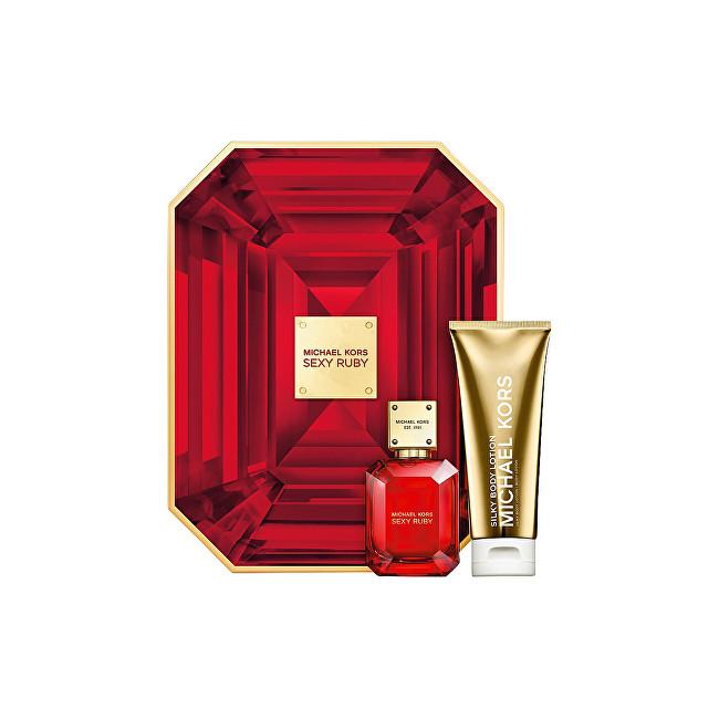 Michael Kors Sexy Ruby Eau de Parfum - EDP 50 ml + tělové mléko 100 ml