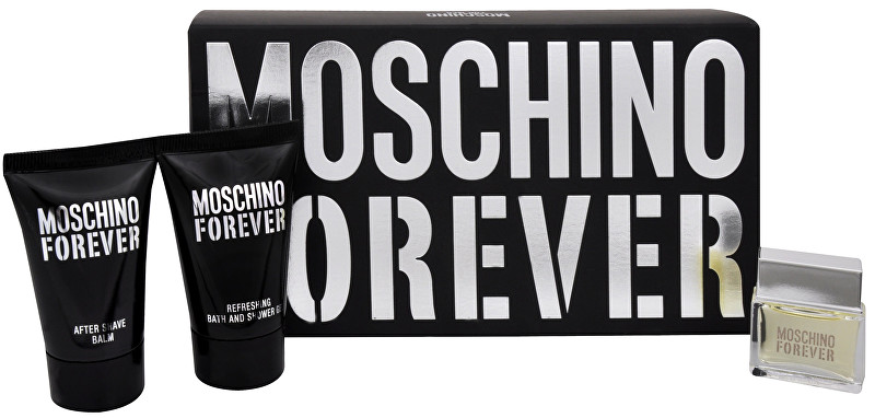 Moschino Forever - EDT 4,5 ml + balzám po holení 25 ml + sprchový gel 25 ml