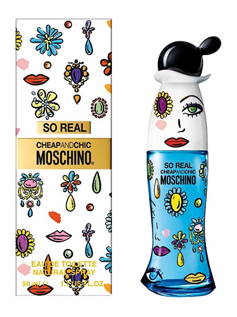 Moschino So Real Cheap & Chic toaletná voda dámska 50 ml
