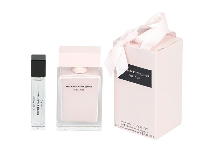 Narciso Rodriguez For Her - EDP 50 ml   Pure Musc - EDP 10 ml