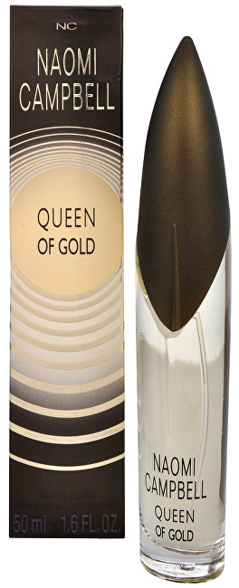 Naomi Campbell Queen Of Gold - EDT 50 ml