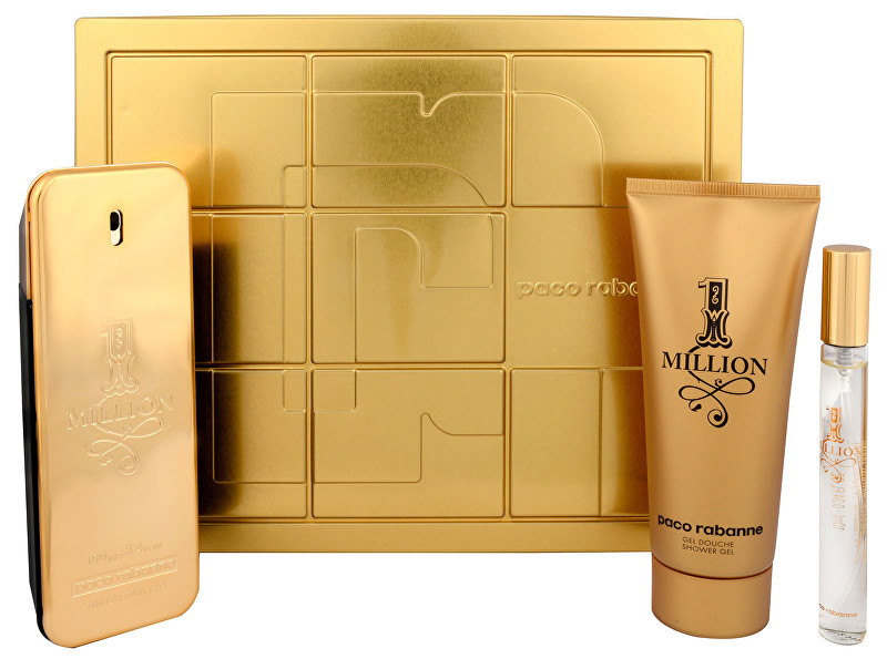 Paco Rabanne 1 Million - EDT 100 ml   EDT 10 ml   sprchový gel 100 ml