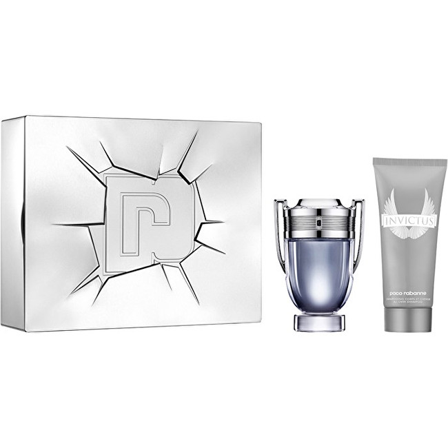 Paco Rabanne Invictus - EDT 100 ml + dezodorant v spreji 150 ml