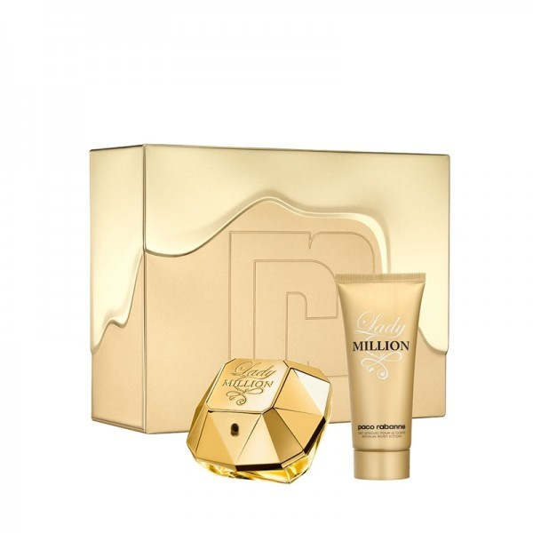 Paco Rabanne Lady Million - EDP 80 ml + telové mlieko 100 ml