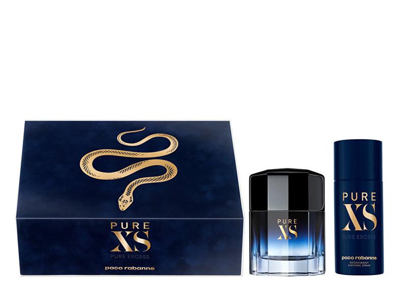 Paco Rabanne PURE XS - EDT 100 ml + deodorant ve spreji 150 ml