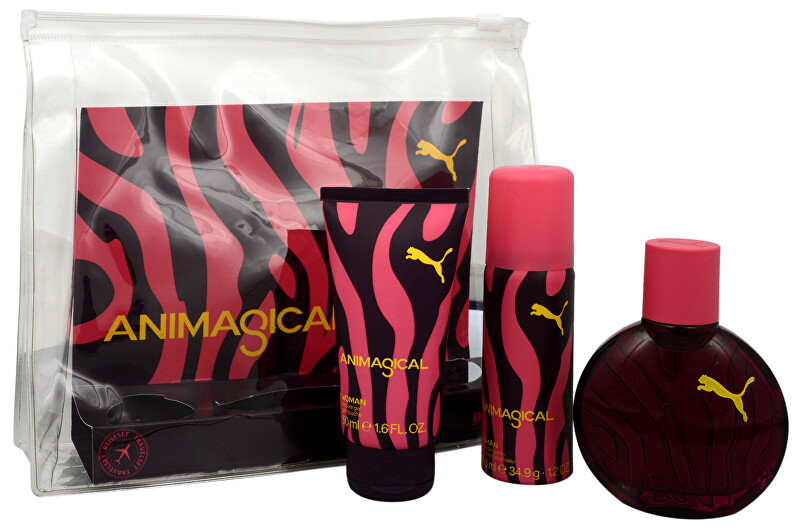 Puma Animagical Woman EDT 40 ml + sprchový gel 50 ml + deodorant 50 ml