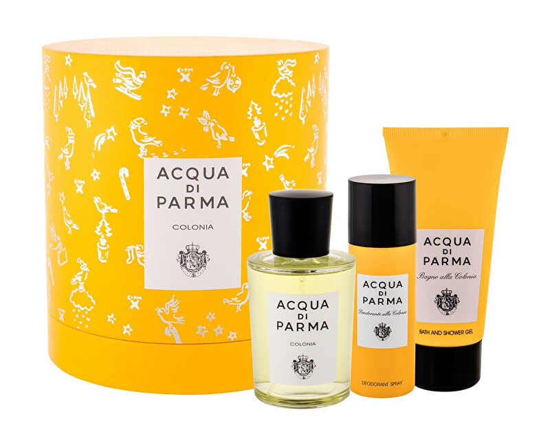Acqua Di Parma Colonia Intensa  EDC 100 ml  sprchový gel 75 ml  deodorant ve spreji 50 ml