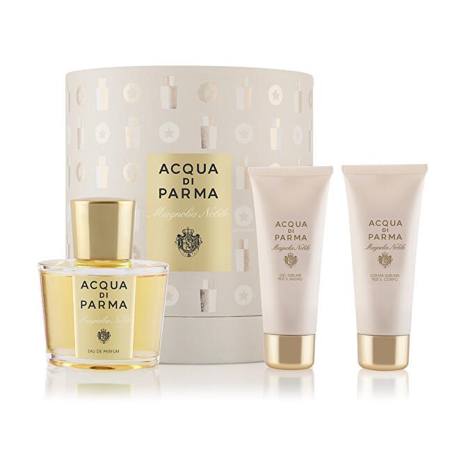 Acqua Di Parma Magnolia Nobile - EDP 100 ml + sprchový gel 75 ml + tělové mléko 75 ml
