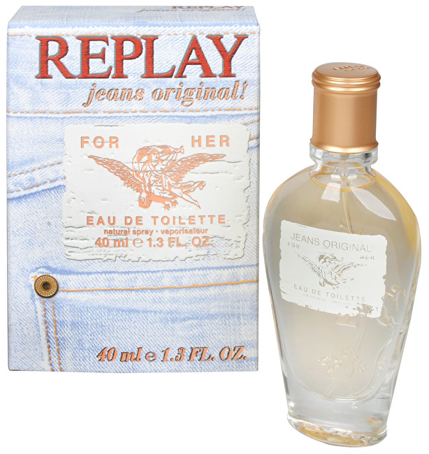 Replay Replay Jeans Original For Her  EDT 20 ml