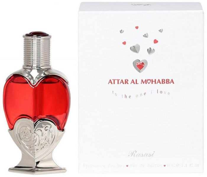 Rasasi Attar Al Mohabba Female parfumovaná voda dámska 45 ml